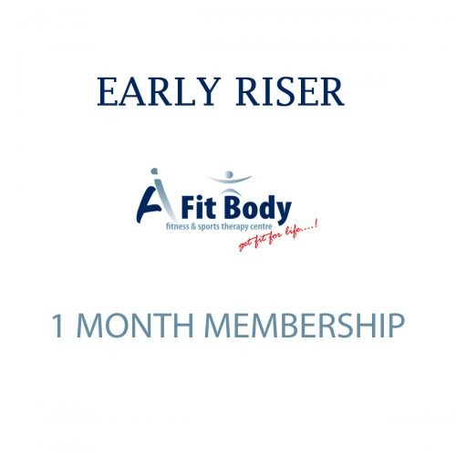 Early Riser - 1 Month Membership