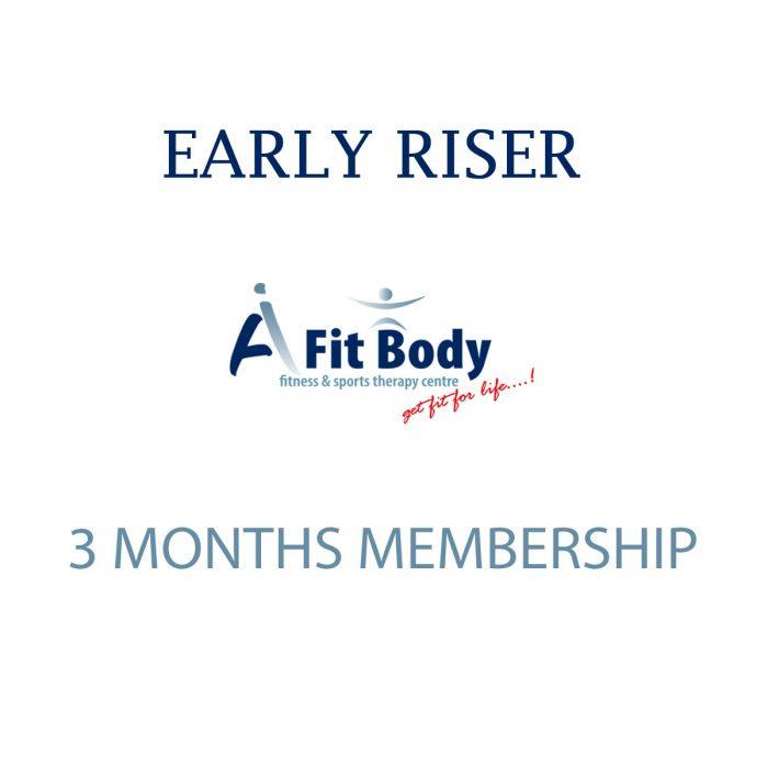 Early Riser - 3 Months Membership