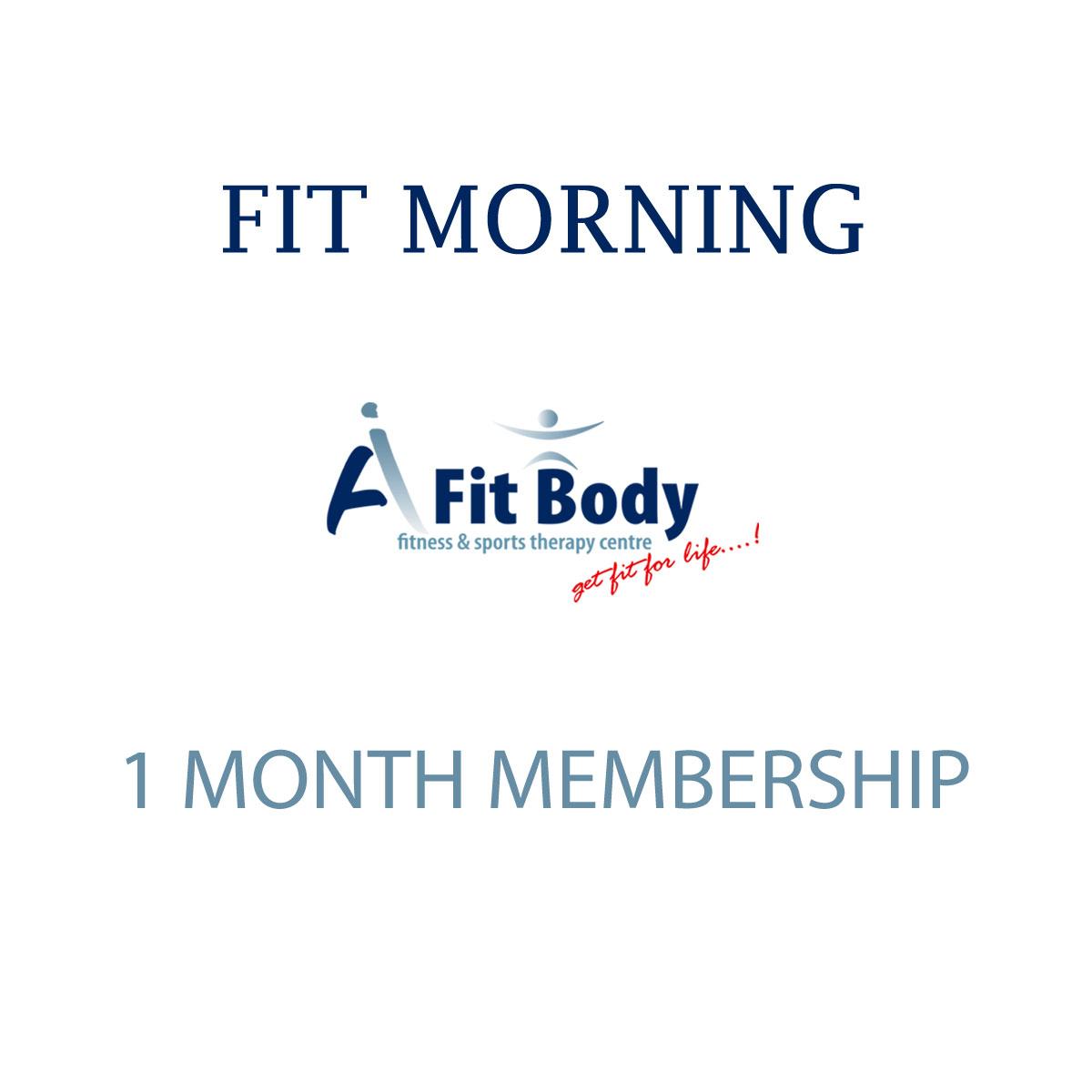 Fit Morning - 1 Month Membership