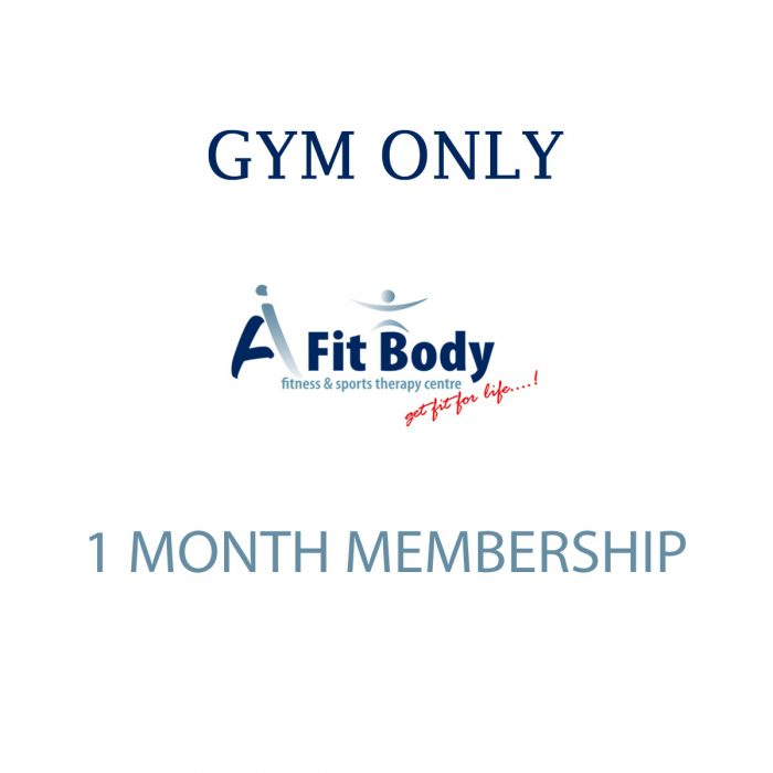 Gym Only - 1 Month Membership