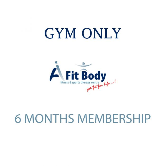 Gym Only - 6 Months Membership
