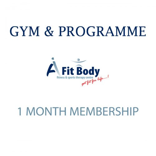 Gym & Programme - 1 Month Membership