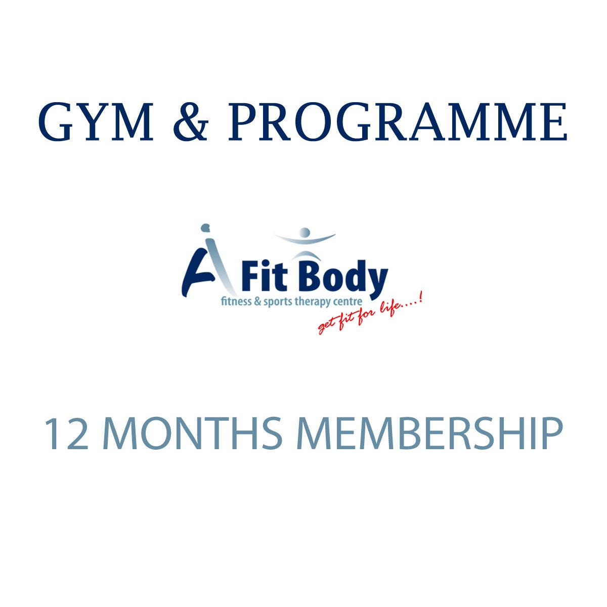 Gym & Programme - 12 Months Membership