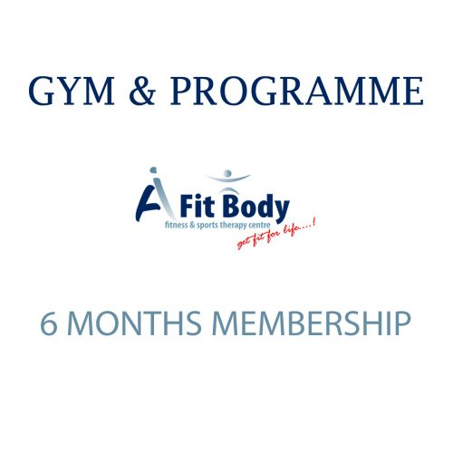 Gym & Programme - 6 Months Membership